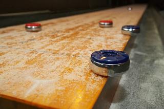 SOLO® Shuffleboard Movers Poulsbo, Washington.